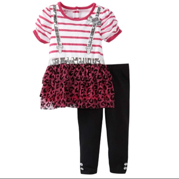 fa8c91fb4df0 Young Hearts 2 Piece Striped Shirt and Pant